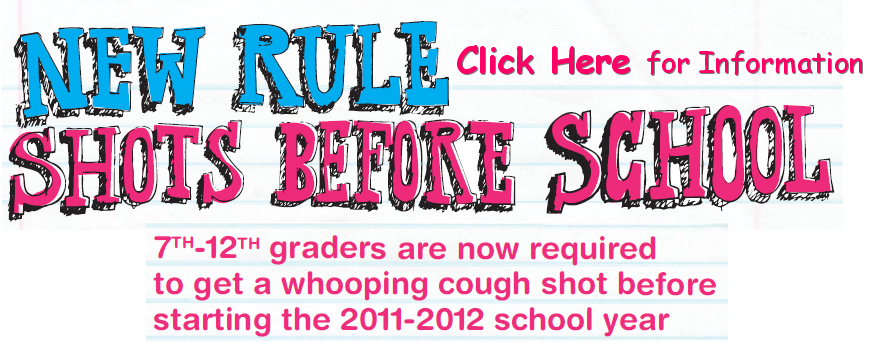 no shot no school banner website